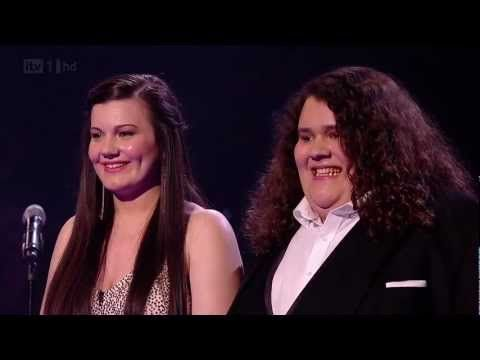 """Opera :17-year-old Jonathan and 16-year-old Charlotte sing together """"The Prayer"""" Britains got talent 2012 Live Final. Amazing performance."""