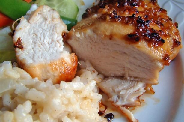 Easy Garlic Chicken Recipe | Somewhat Healthy Recipes | Pinterest