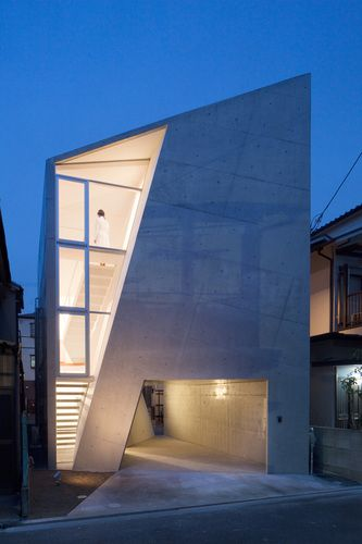House Folded By ALPHAVILLE ARCHITECTS