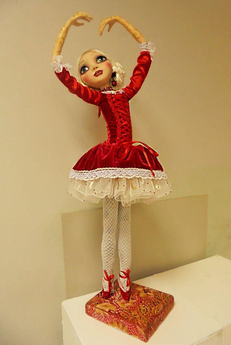Doll Ballerina. Size 30 inc.