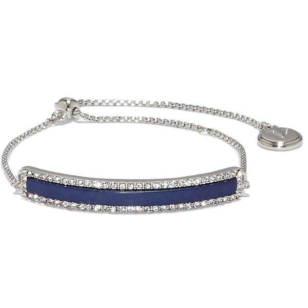 Vince Camuto Color Bracelets/Earrings Crystals & Semi-Precious Stone... ($38) ❤ liked on Polyvore featuring jewelry, bracelets, blue, semi precious stone jewelry, semi precious jewellery, vince camuto jewelry, vince camuto and semi precious stone jewellery