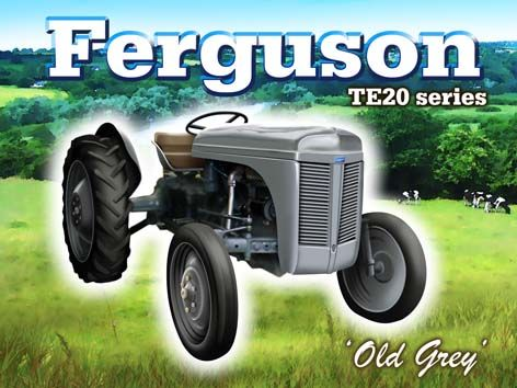 """Old Grey"" Ferguson TE20 Series"