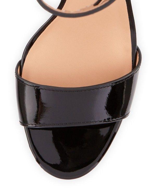 Halston Heritage - Marley Patent-Leather Sandal