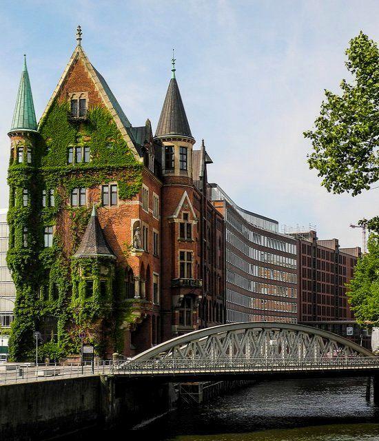 ✿⊱╮Speicherstadt ~ Hamburg, Germany