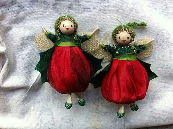 Halinka's holly berry fairies.