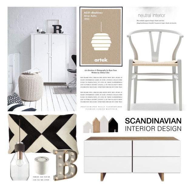 Scandi interior design by emmycassandra on polyvore for Do your own interior design