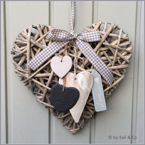 Weidenherz  Love - Grau von EuliundCo via dawanda.com