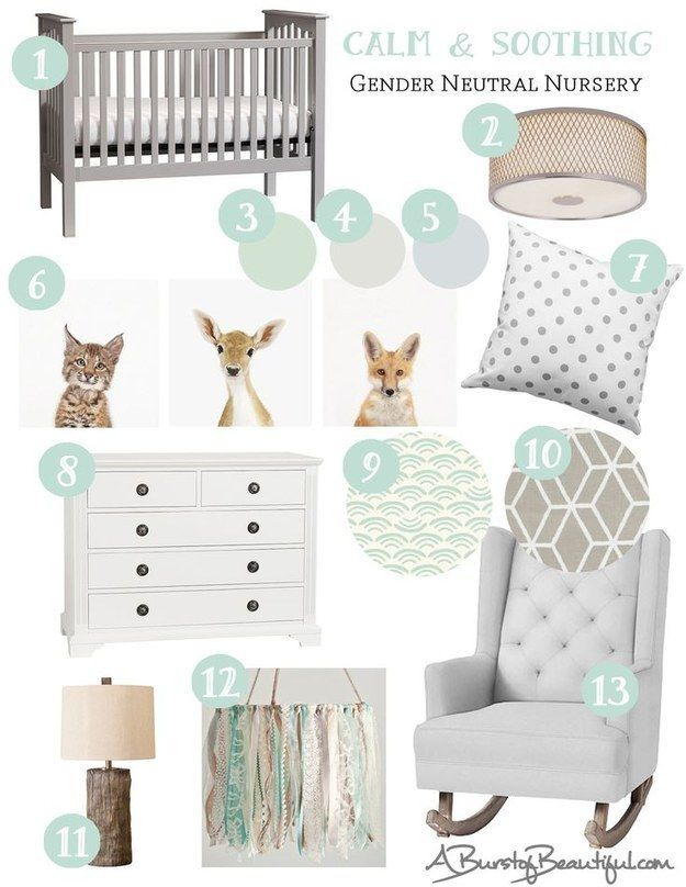 Gender-neutral nurseries. | These Parenting Trends Are Going To Blow Up Pinterest In 2016