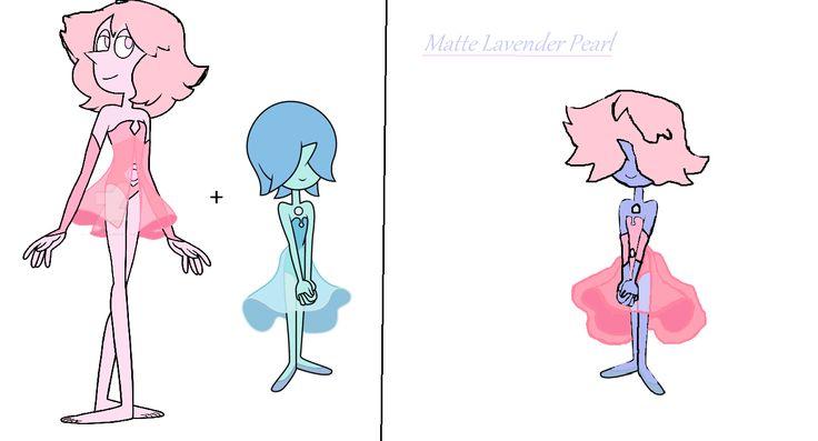 Eu fiz esta fusão com a PInk Pearl (fan art) e Blue Pearl.