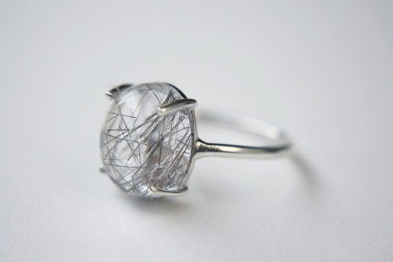 Hey, I found this really awesome Etsy listing at https://www.etsy.com/listing/261379856/tourmalinated-quartz-cabochon-ring-in
