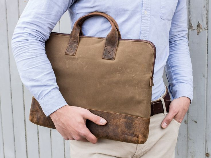 Father's Day Gift | Slim laptop bag for men