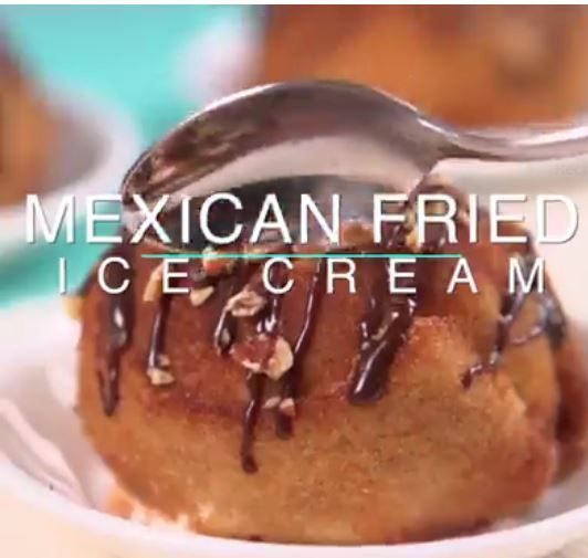 Mexican Fried Ice Cream Tip Hero