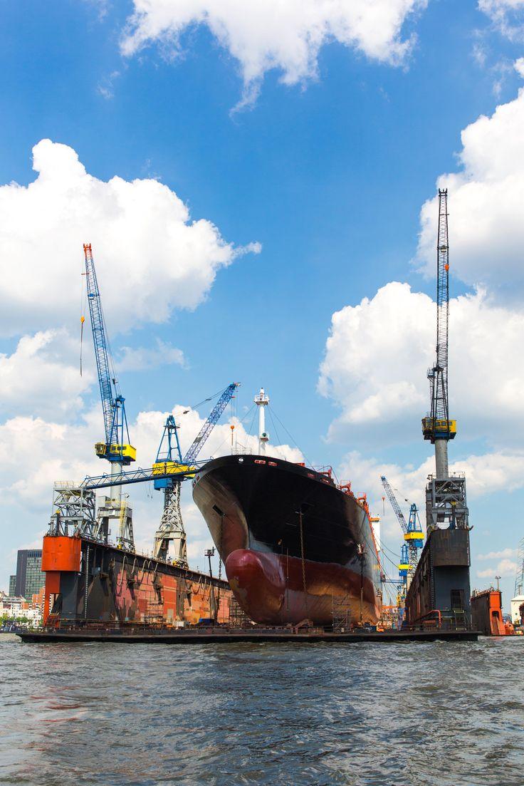 Hamburg Hafen Montreal Express Dock 11 | Bildschönes Hamburg