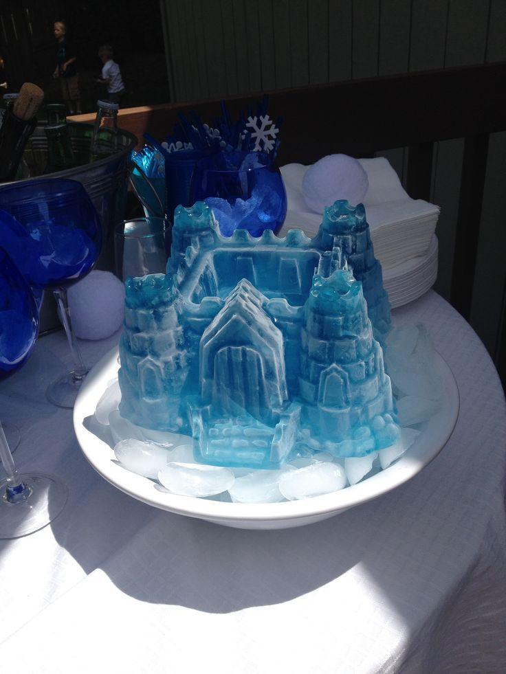 Real Frozen Ice Castle Used Castle Cake Pan Frozen