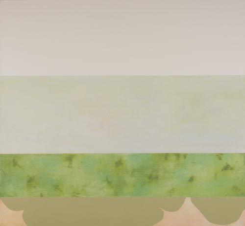 sarah hinckley's painting: we breathe the future