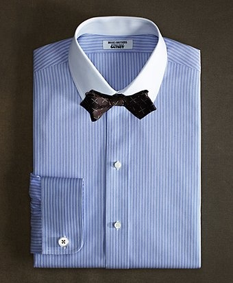 40 best b white collar blue shirt ideas images on for Brooks brothers custom shirt