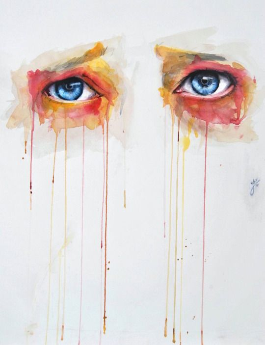 Intriguing Watercolor Eye Paintings by Jone Bengoa