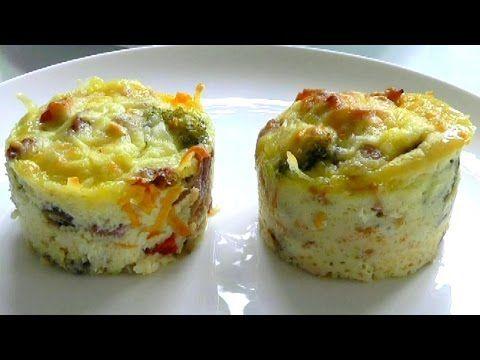 How to make EGG MUFFINS breakfast recipe - YouTube