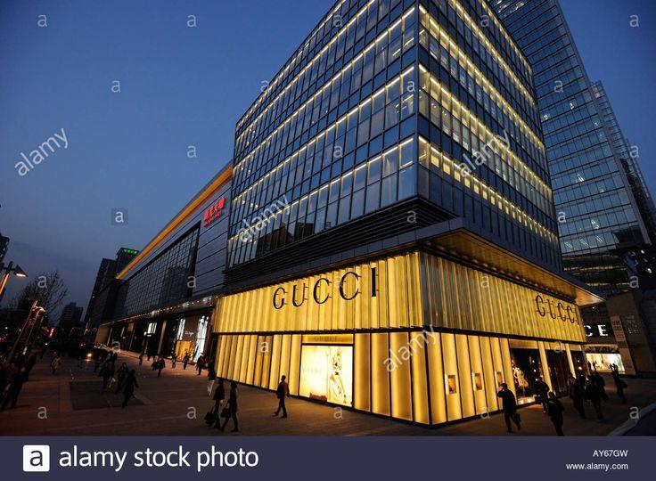Gucci store at Shin Kong Place in Beijing CBD, China.