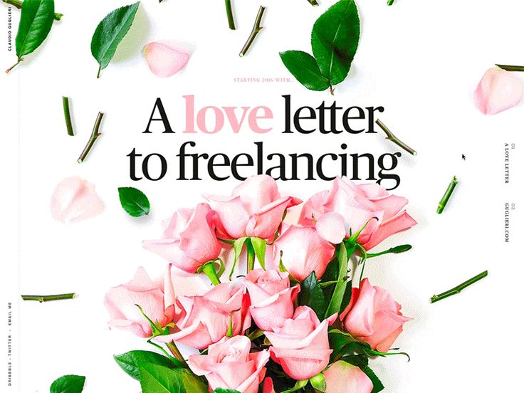 A love letter to freelancing - Guglieri.com