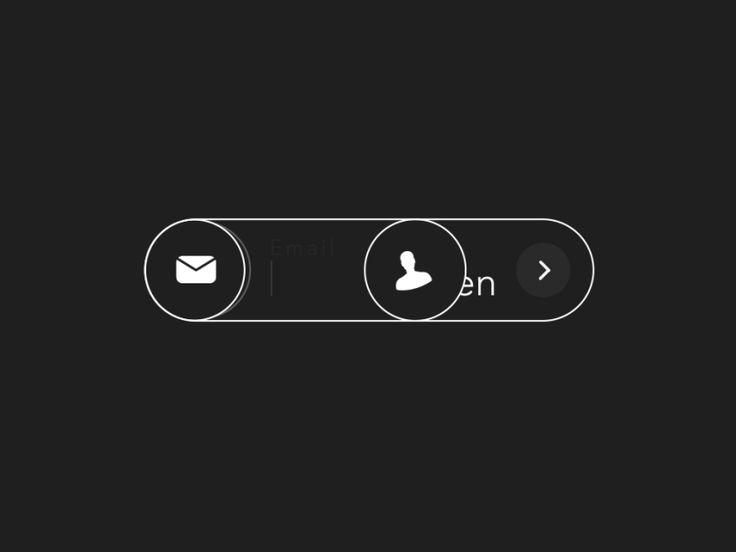 #버튼 #입력창  Password Unlock Animation | Motion Graphics in User Interface Design #UI