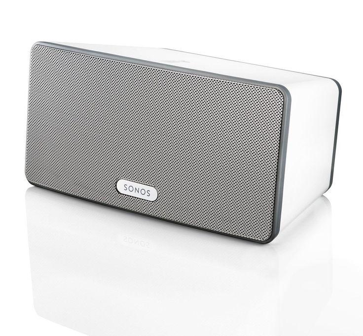 SONOS PLAY:3 Smart Speaker for Streaming Music (White) White
