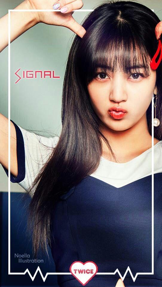 JIHYO || Park Jihyo || Twice Signal Lockscreen
