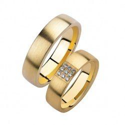 Promises Ringen Collectie Geel Goud