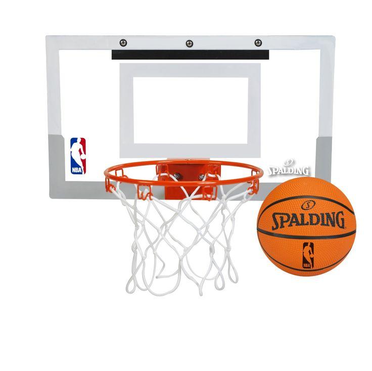 Attractive Mini Basketball Hoop Kids Basketball Hoop NBA Slam Jam Over The Door Mini  Basket