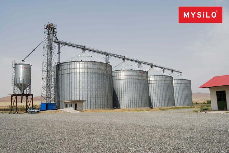Наиболее узким гофрированного листового металла силос из одной компании в мире по производству Mysilo!