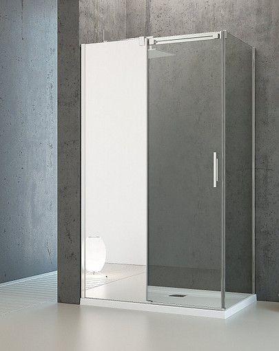 Espera KDJ Mirror Radaway kabina prostokątna 100*x90 lustro/przejrzyste lewa - 380130-71L / 380148-01L