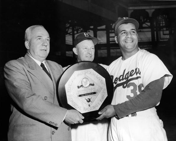 Image result for 1951 Yankees and Dodgers baseball photos