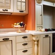 Orange Kitchen Walls With White Cabinets 42 best terracotta images on pinterest | home, orange walls and