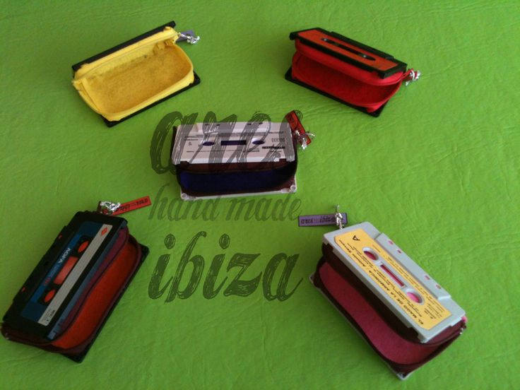 monederos cassette de ARES IBIZA por DaWanda.com