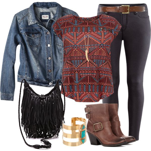 "#plus #size ""Aztec - Plus Size"" by alexawebb on Polyvore"