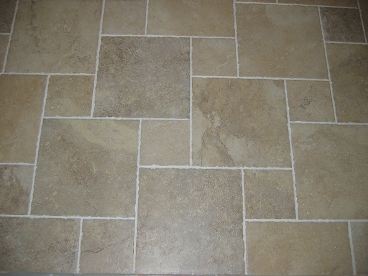 My preference is to use a grout color that blends more with the tile  Tiles79 best HOPSCOTCH TILE PATTERN images on Pinterest   Hopscotch  . Entrance Floor Tiles Design Images. Home Design Ideas