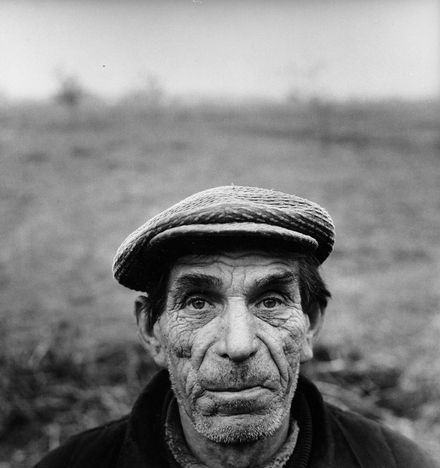 Antanas Sutkus, Portrait of a Famrmer, 1969