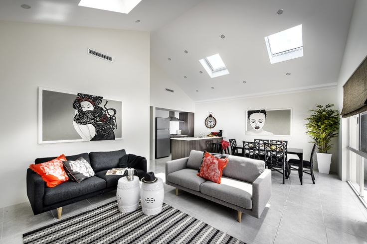 Homebuyers Centre - Flute (Brabham) Display Home Living