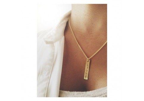 Namnhalsband - Graverat Halsband