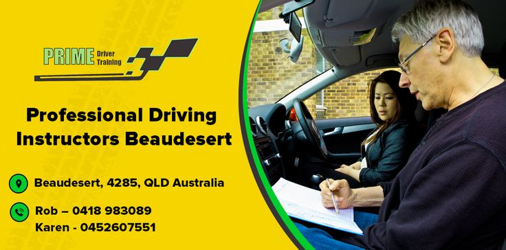 Prime Driver Training is a #Professional_Driver_Training School in Beaudesert and Jimboomba. We have an excellent first time driving test pass rate, so you can trust us to get you quickly and safely through your #driving_test. for more information Call us today on 0418 983 089