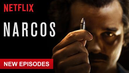 """Check out """"Narcos"""" on Netflix"""