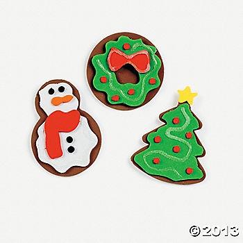 Christmas Sugar Cookie Magnet Craft Kit