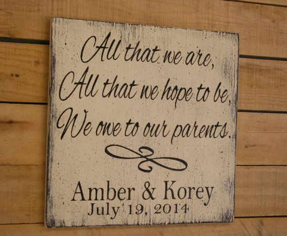 Personalized Wedding Gifts For Parents: Best 25+ Parent Wedding Gifts Ideas On Pinterest