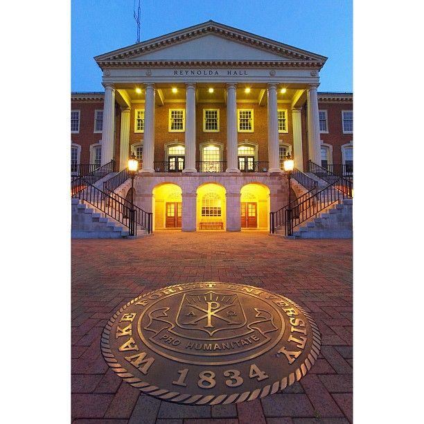 Wake Forest University in Winston-Salem, NC - Camp dates: June 15-19