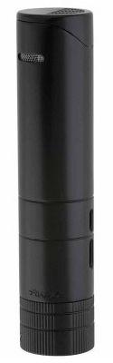 XIKAR Turrim Tabletop / Travel Case Cigar Lighter in Black Finish
