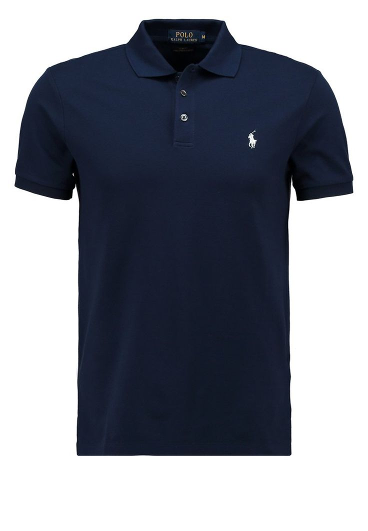Polos Polo Ralph Lauren SLIM FIT - Polo - french navy bleu fonc��: 100,