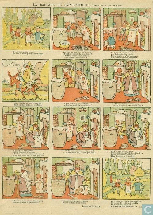 La ballade de Saint-Nicolas (ca. 1900)