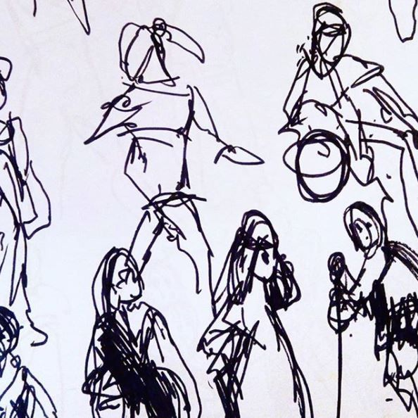 #lifedrawing #figuredrawing #latenight #drawing practice models referenced online #art #sketch #energy #line