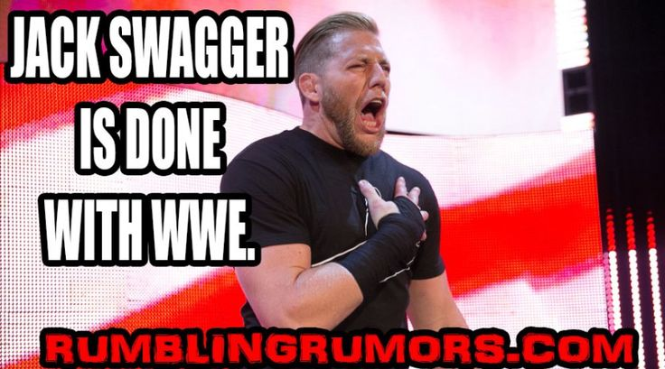Jack Swagger Released By WWE. Swagger Comments & Interview. – RumblingRumors