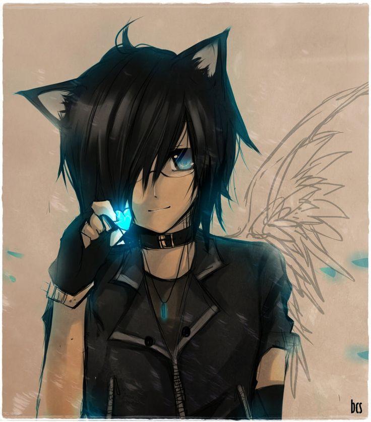 Neko Anime, Anime Manga Boys, Anime Girl, Ccc Anime, Emo Anime Guys, Manga Art, Hawt Anime, Eyes Anime, Anime Xx